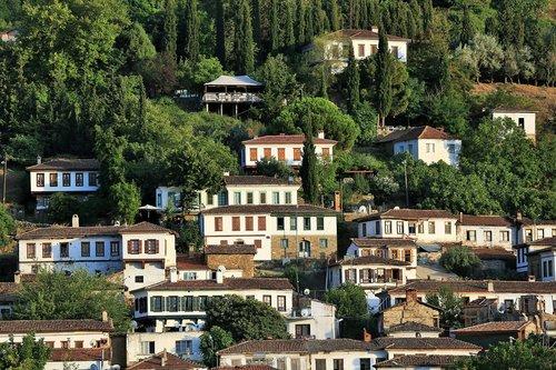 sirince  village  nature