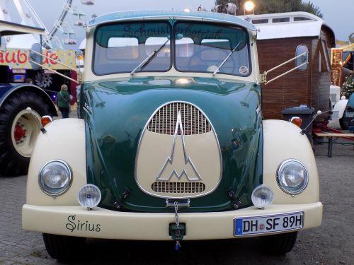 sirius oldtimer auto