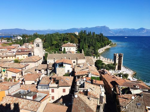 sirmione  headland  garda lake