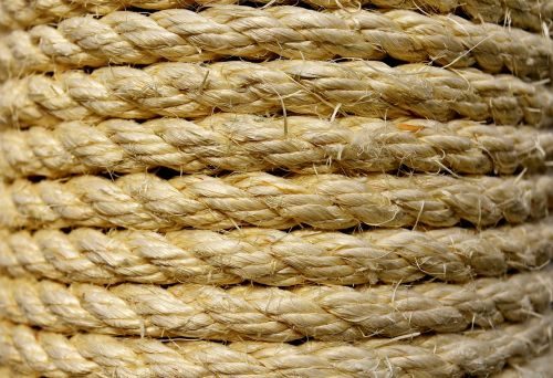 sisal cord wrapped