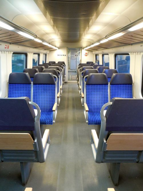 sit seats train