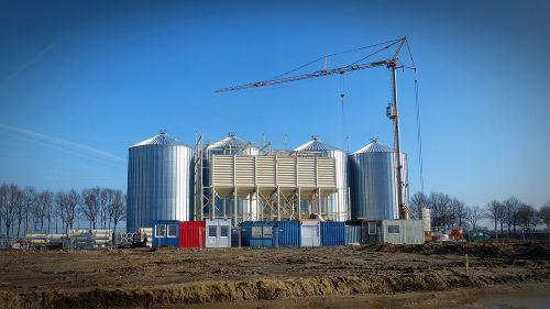 site silo new building
