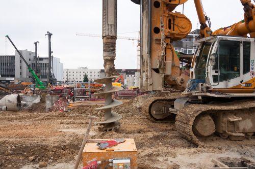 site augers crane