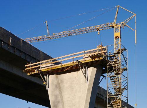 site concrete construction pillar