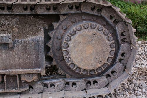site excavators tracked vehicle