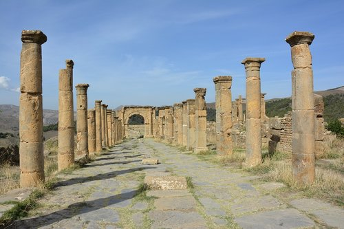 site  archaeological  represented at setif
