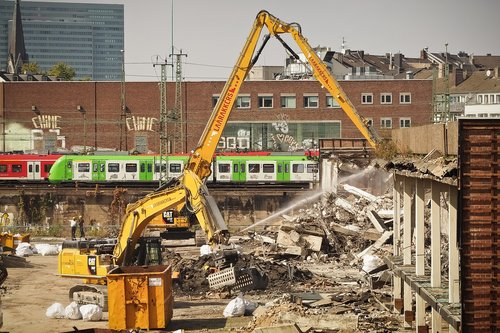 site  demolition work  demolition