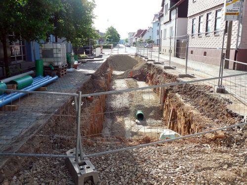site construction road construction