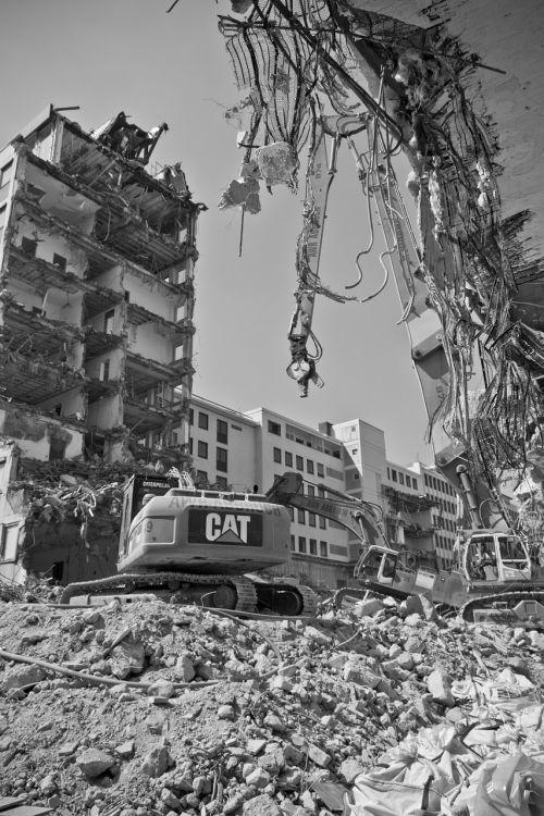 site demolition city