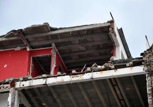 site demolition broken