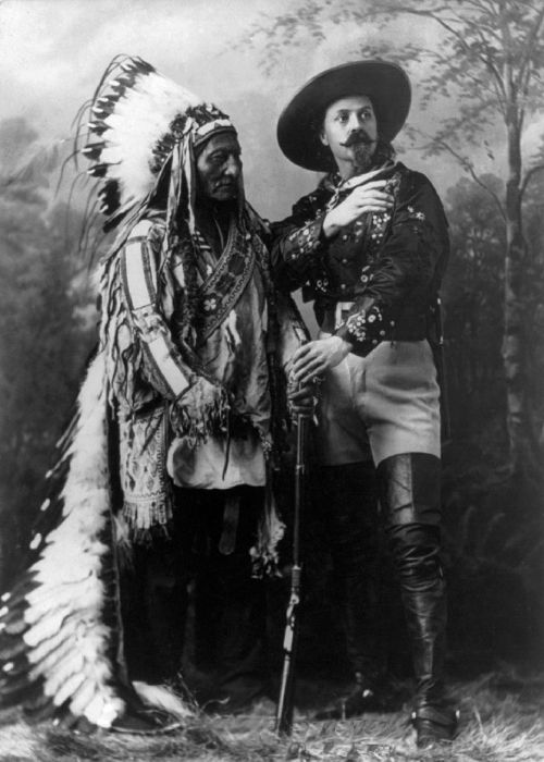 sitting bull buffalo bill wild west