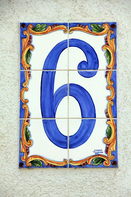 six number house number