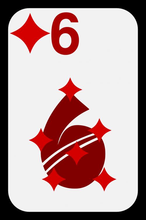 six diamonds game