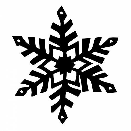 Six Arm Snowflake