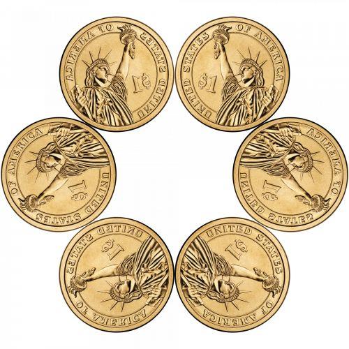 Six Golden Dollars