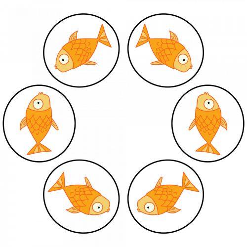 Six Golden Fish