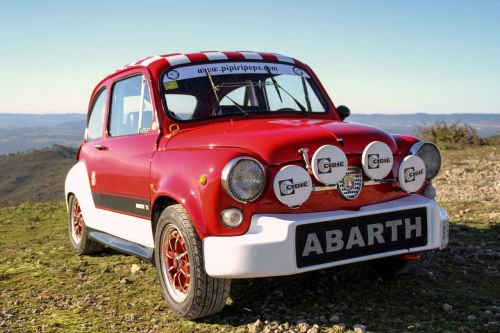 six hundred seat abarth vintage