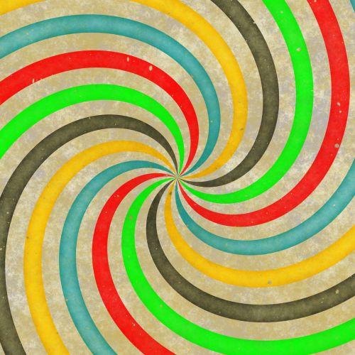 Sixties Swirl