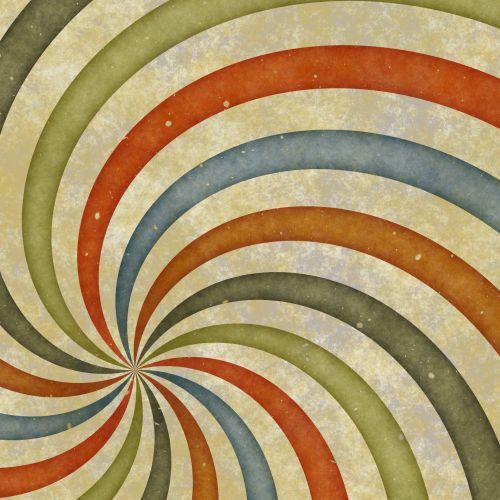 Sixties Swirl Shifted