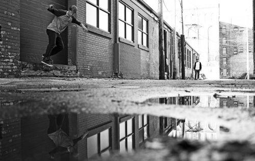 skate alley rain