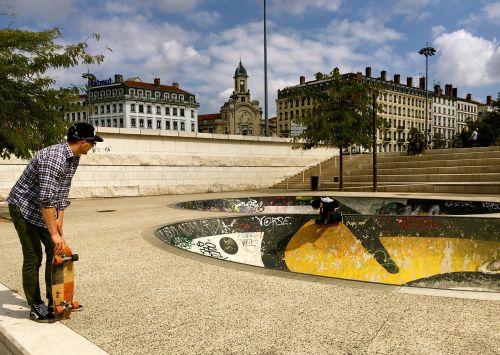 skateboard man fun
