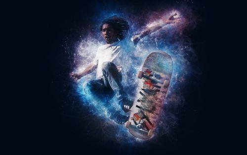 skateboard sport skateboarder