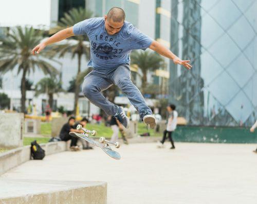 skateboard skateboarder jump