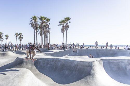 skateboard park acrobatic skateboard