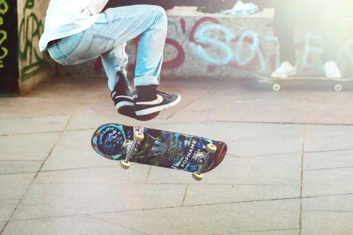 skateboarder man boy