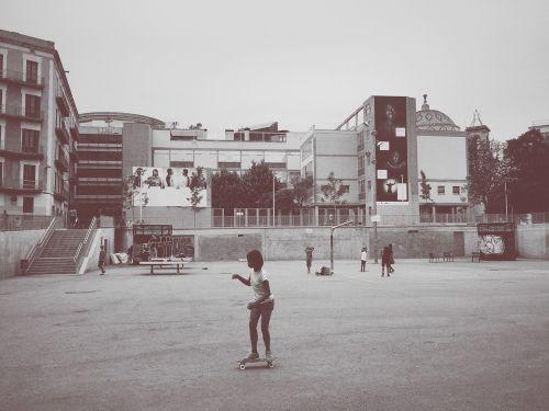 skateboarding park skating