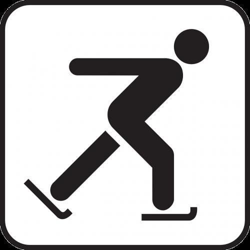skating ice skating ice