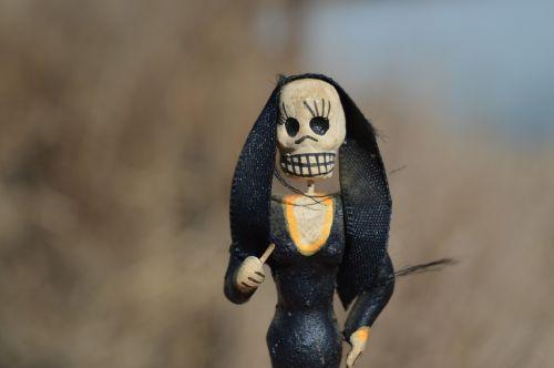 skeleton witch zombie