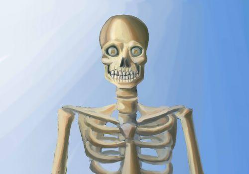 skeleton goggle-eye skinny