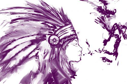 sketch girl native