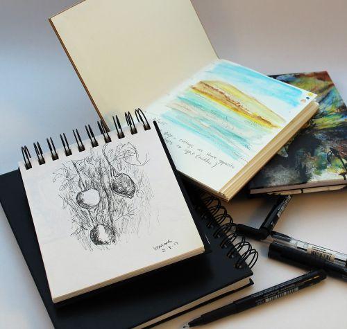 sketch draw sketchbook