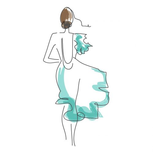 sketch illustration fashion sketch