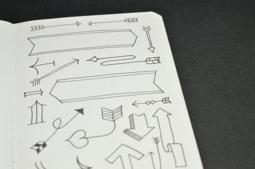 sketch drawing address book