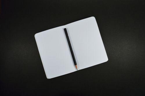 address book notebook open