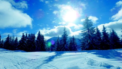 ski ski holidays landscape