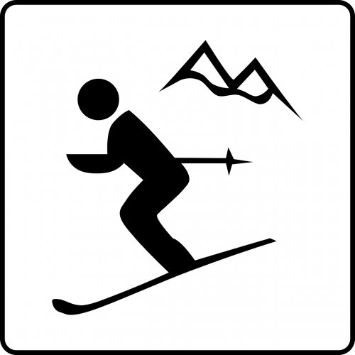 ski sports skiing
