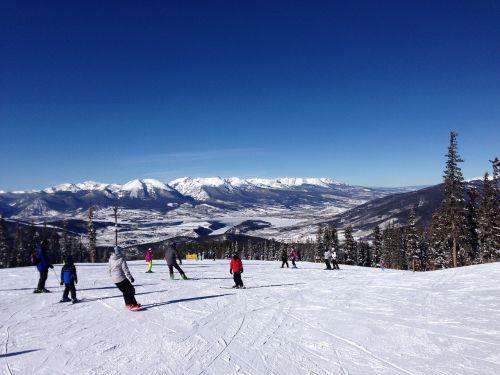 ski colorado slopes