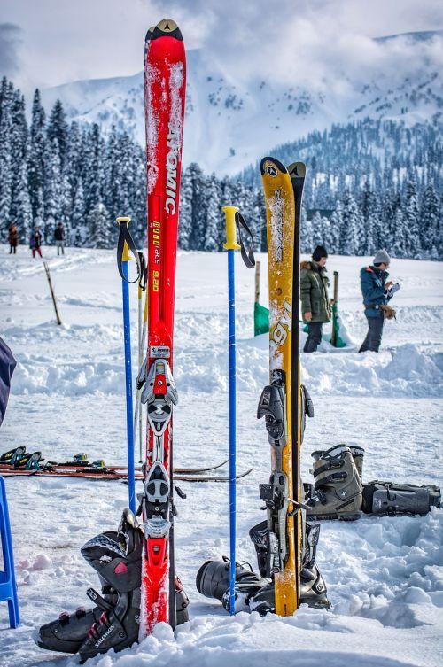 ski ski boots equipment