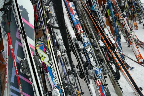 ski ski equipment ski poles