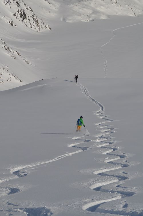 ski backcountry skiiing alpine