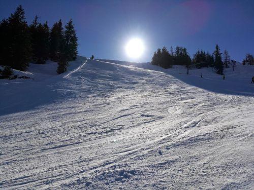 ski winter alpine