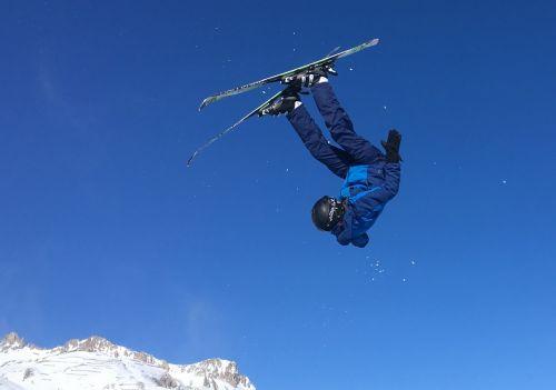 ski jump val d'isere