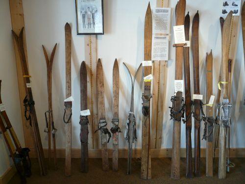 ski wooden skis ski history