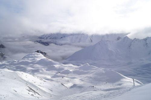ski snow view