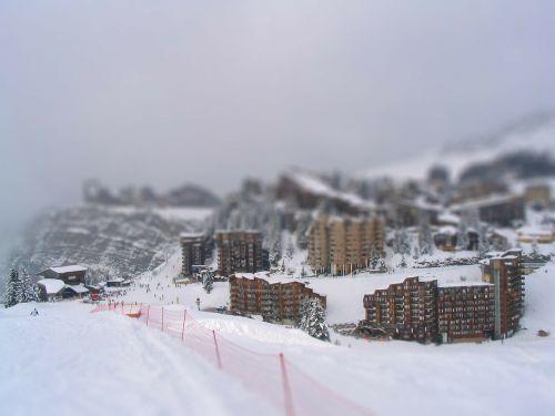 ski area hotels winter