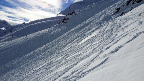 ski area skiing ski run